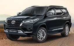 Luxury SUV Toyota Fortuner / Ford  Endeavour