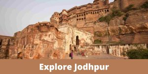 What are the best transport options to explore Jodhpur?