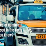 Why 2 types of number plates are used in the Taxis - Do you know?
